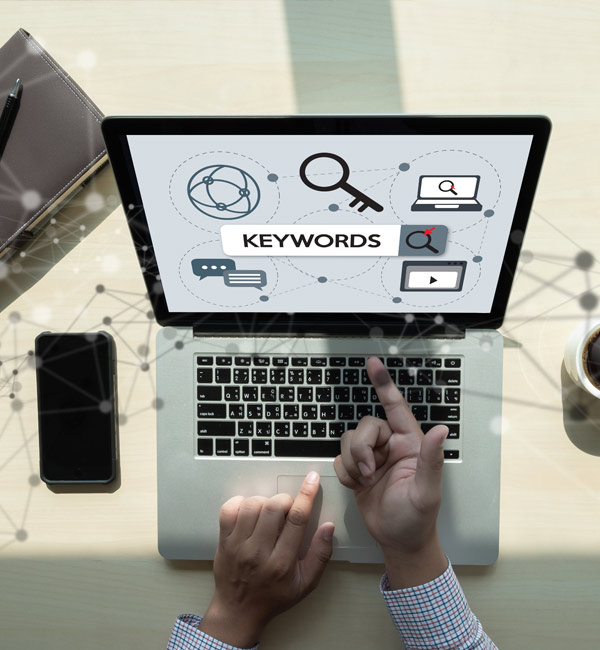 keywords is part of SEO